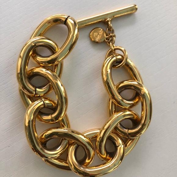 b610c7a21a60b ben-amun LARGE GOLD CHAIN LINK Bracelet